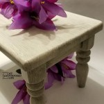 Small Stool Makeover | Chalk Couture Style