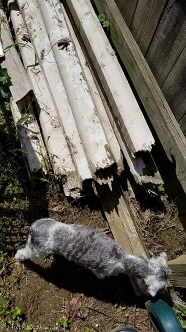 reclaimed landscape timbers