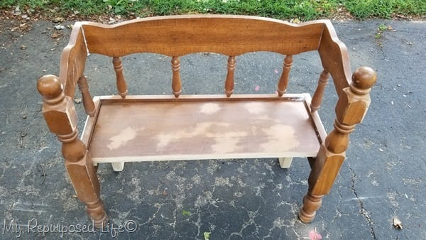 small toddler or doll bench