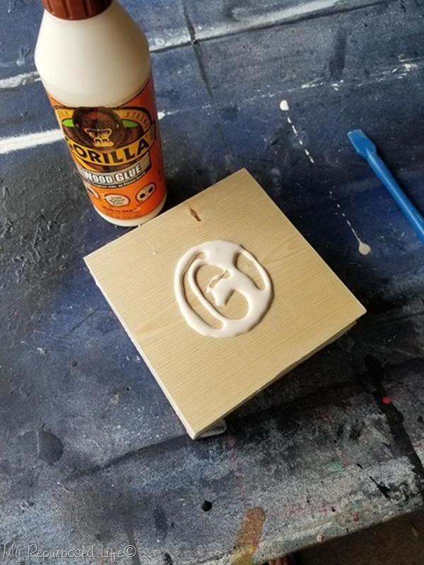apply gorilla wood glue