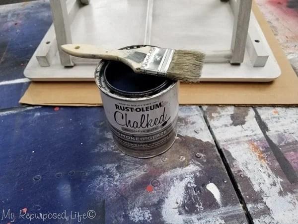 how do you glaze furniture