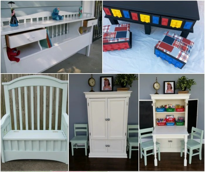 Kids Organization Ideas Using Repurposed Furniture My Repurposed Life