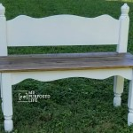 Twin Bed Bench Easy Headboard Bench Tutorial