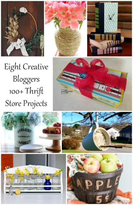 creative bloggers share upcycled projects