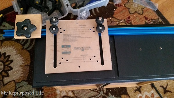 hardware jig for handles