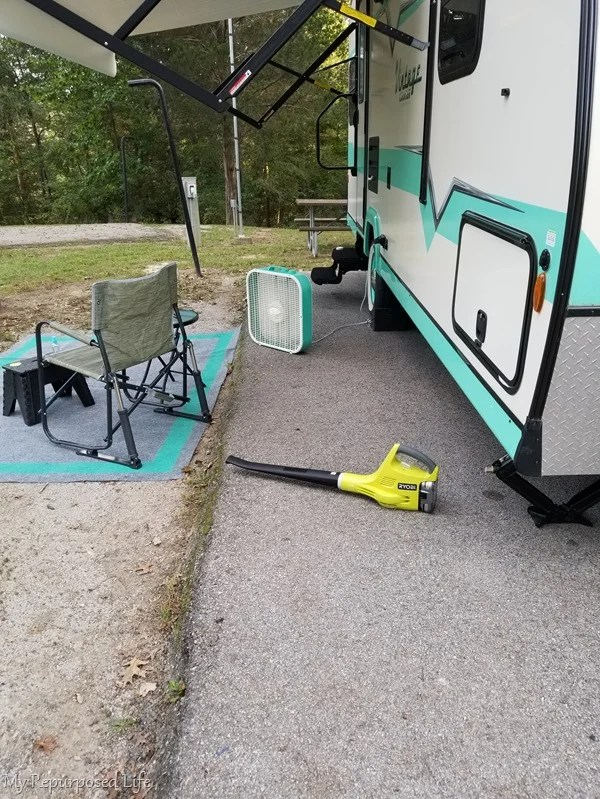 leaf blower for camper