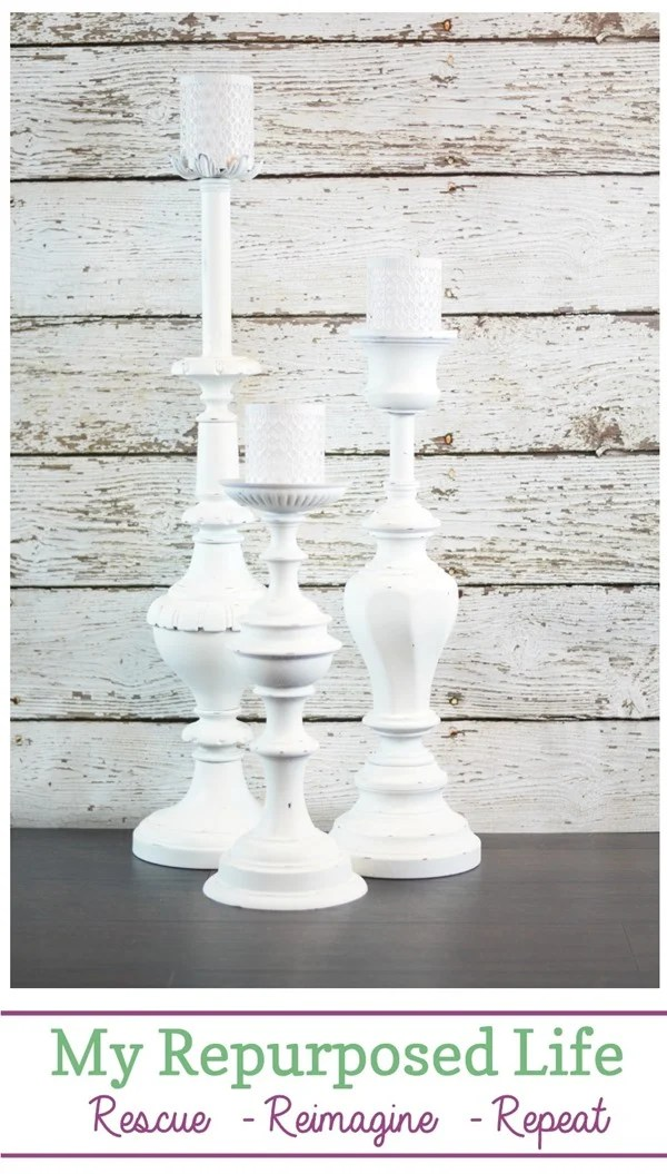candle holders plant stands made from repurposed lamps MyRepurposedLife