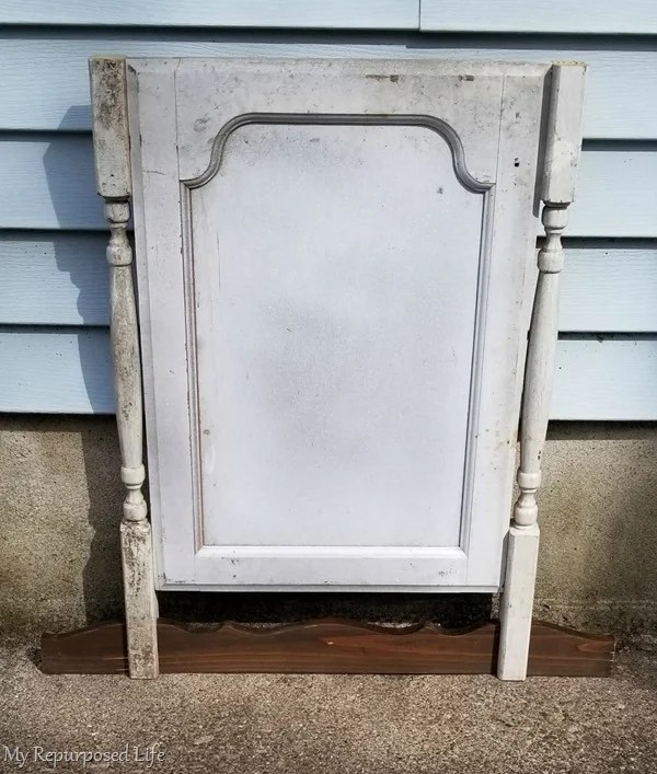part 2 faux dresser harp chalkboard