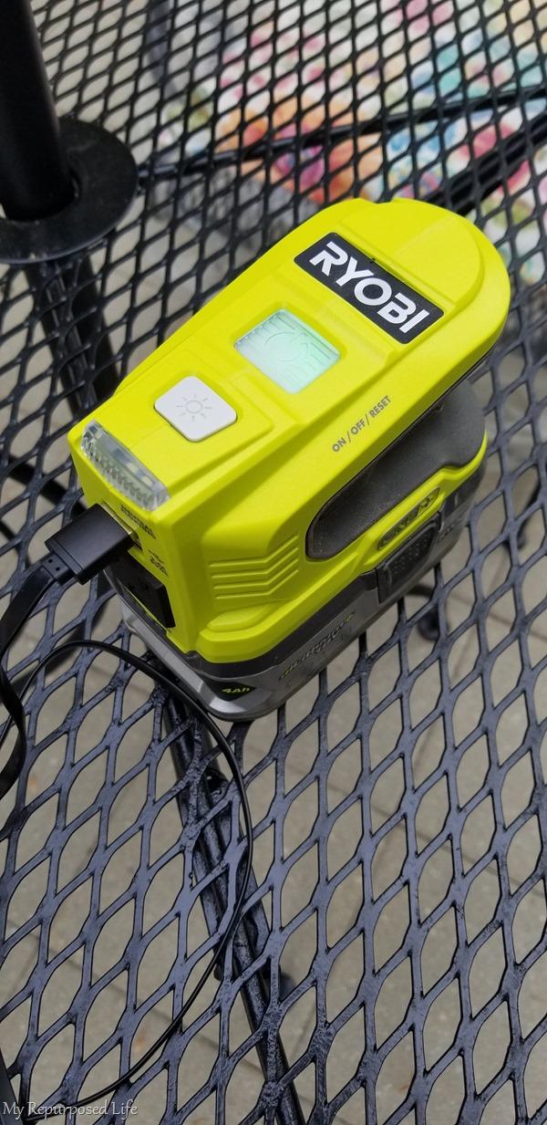 150-Watt Powered Inverter Generator for 18-Volt Battery