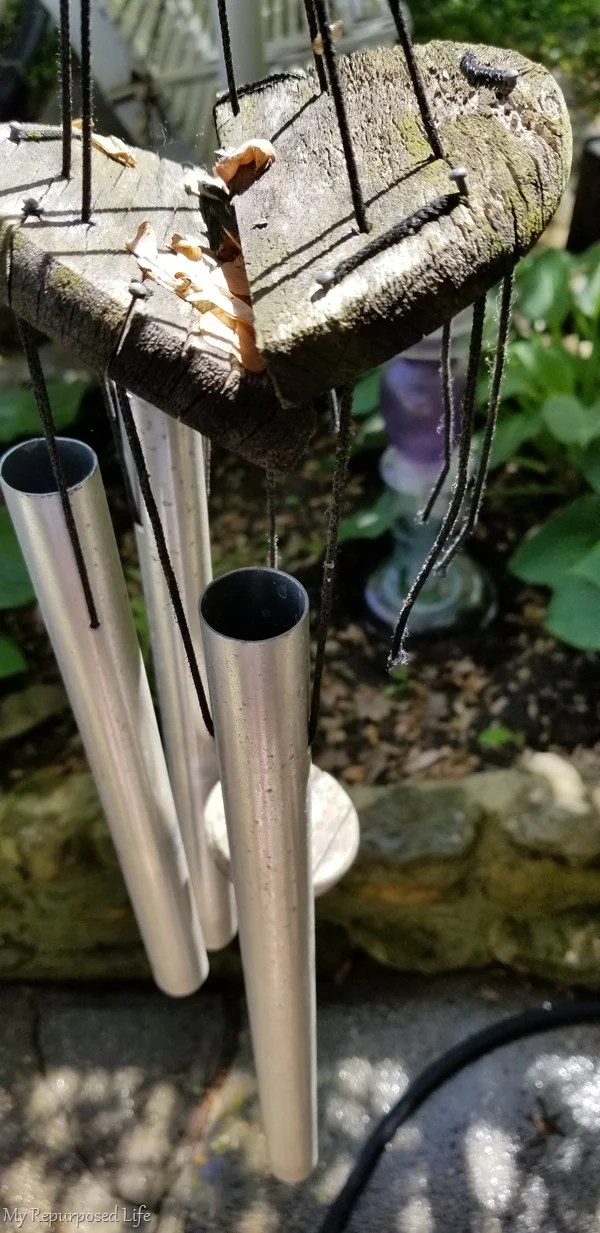 broken windchime