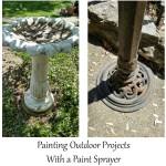 Using a Paint Sprayer for Outdoor Projects