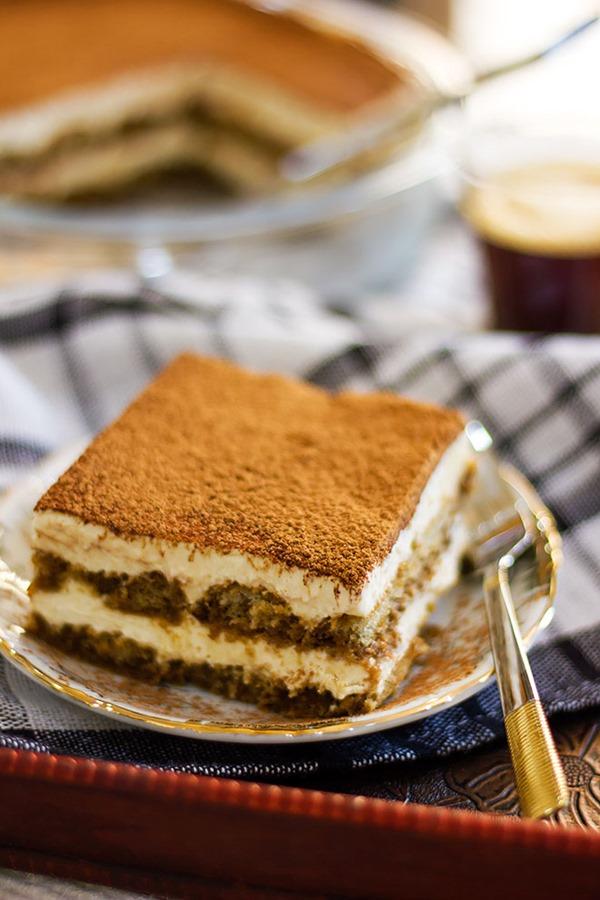 Tiramisu-dessert