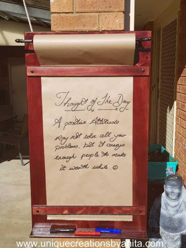 how-to-make-a-kraft-paper-roll-message-board