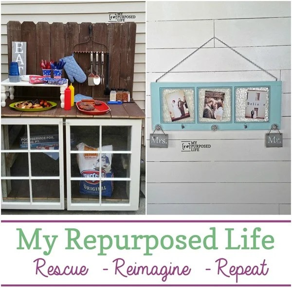 last week at My Repurposed Life
