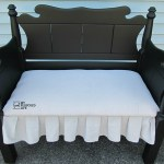 Upholstered Twin Headboard Bench
