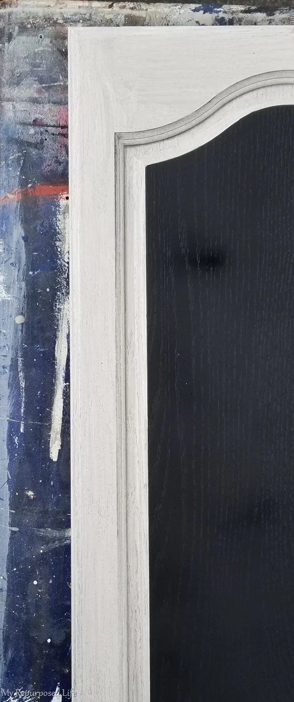 remove painters tape around chalkboard surface