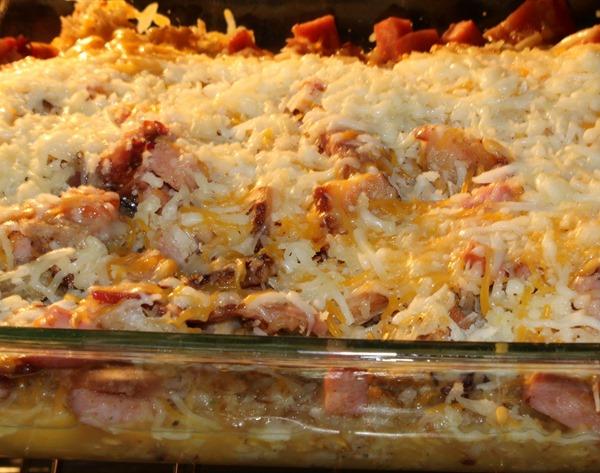 Homemade-Potato-Breakfast-Bake-baking