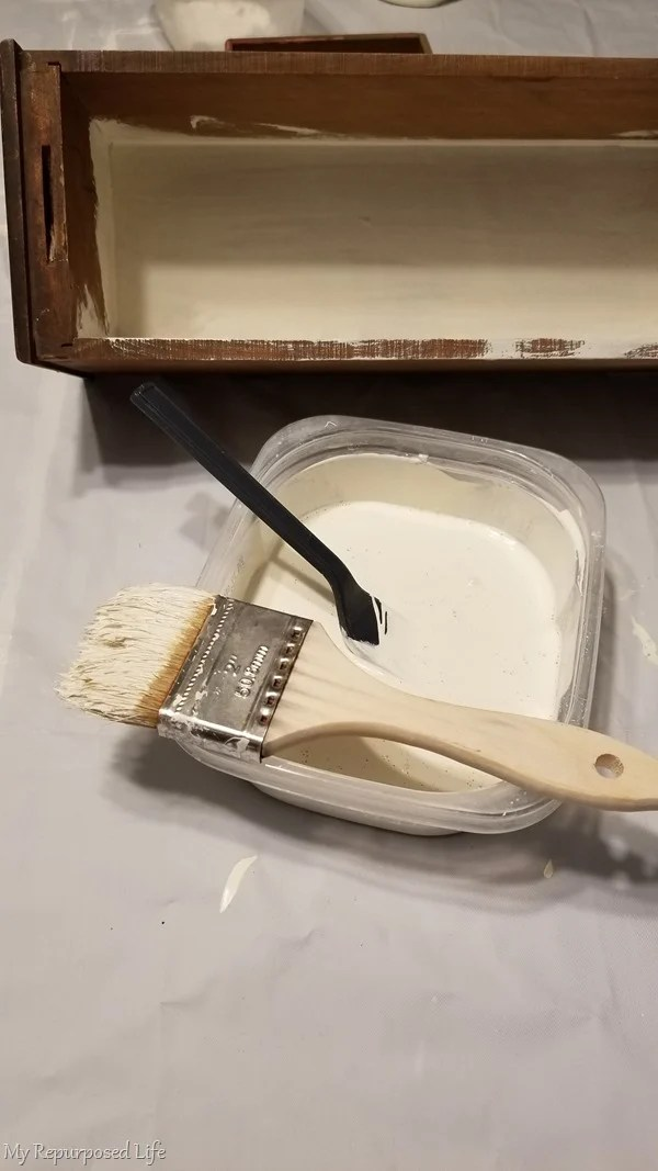 paint sewing drawer