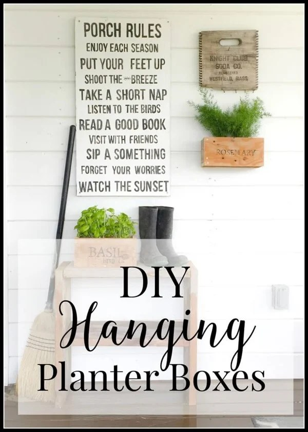 DIY-hanging-planter-boxes- Twelve on Main