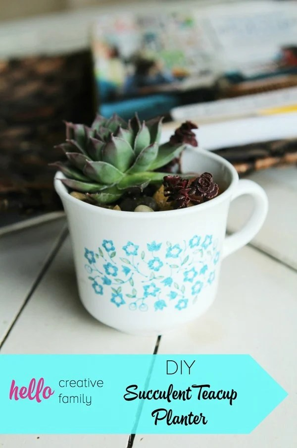 Succulent-Teacup-Planter Ideas Hello Creative Family
