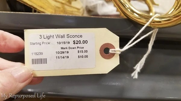cheap 3 light wall sconce