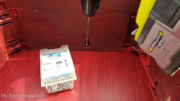 secure pocket hole screws