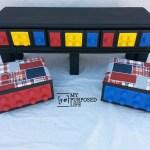 DIY Lego Table {repurposed dresser}