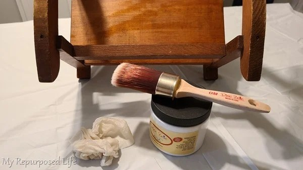 paint doll rocking chair