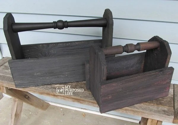 diy-wooden-caddy-made-from-reclaimed-fence-and-chair-parts-MyRepurposedLife