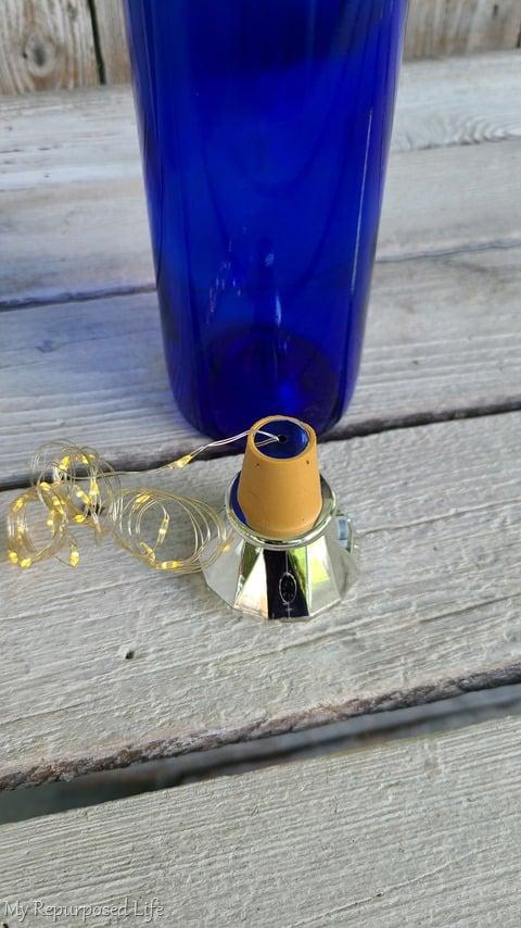 solar lights for wine bottles