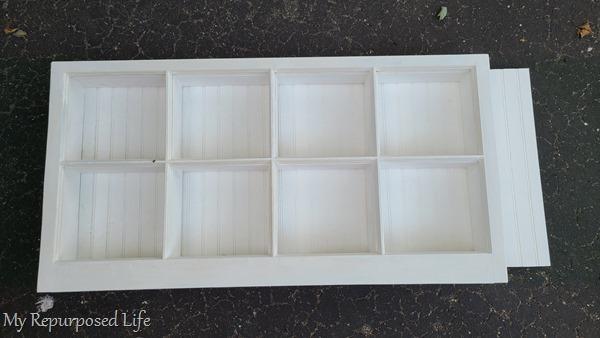 shadow box hook shelf fitting bead board