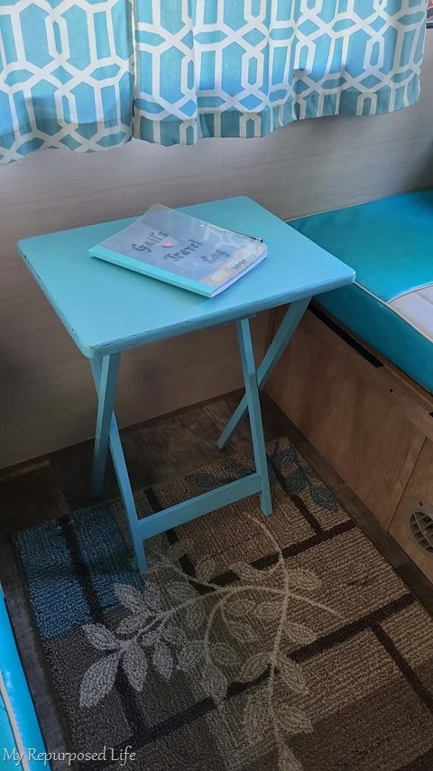 t v tray table makeover my