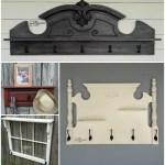Wall Shelf with Hooks   DIY