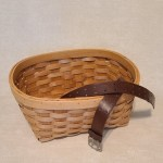 Thrift Store Basket | Leather Belt