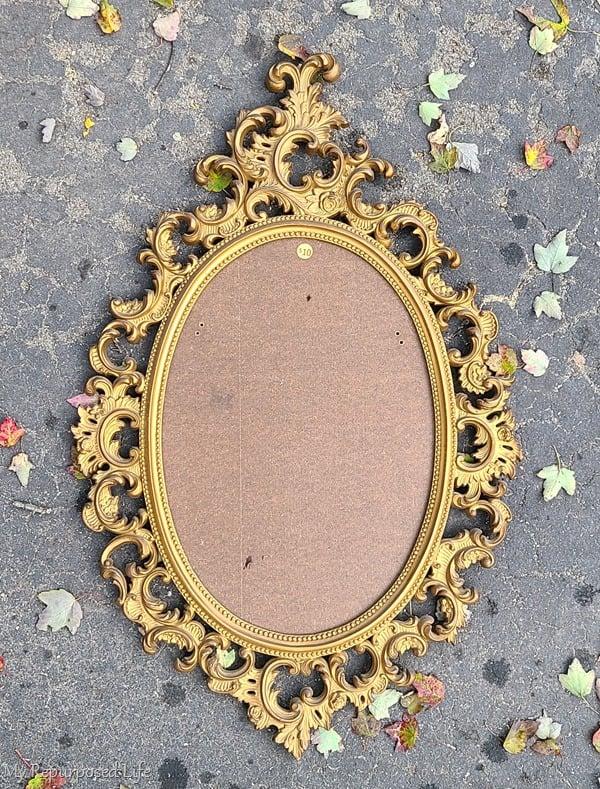 gold baroque mirror