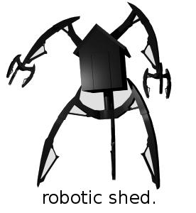 Robotic shed! ARRRGH!