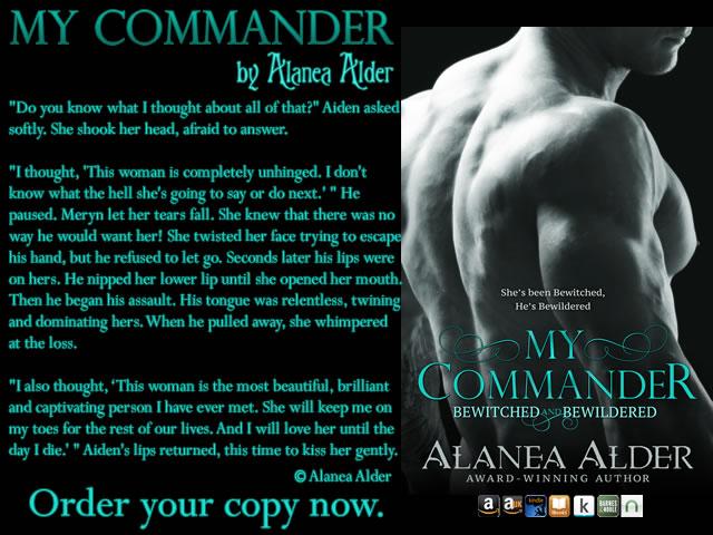 My Commander teaser alanea alder
