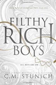 Book Review Filthy Rich Boys by CM Stunich