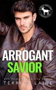 Cover Reveal Arrogant Savior (Cocky Hero Club) by Terri E. Laine