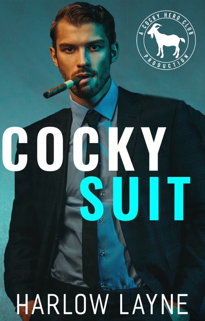 Cocky Suit (Cocky Hero Club) by Harlow Layne