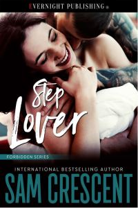Cover Reveal Step Lover by Sam Crescent