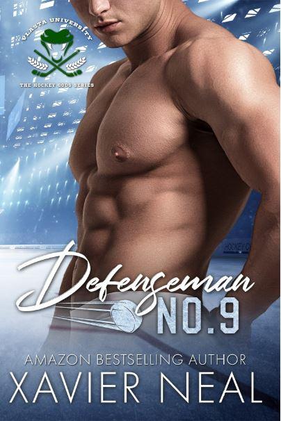 DEFENSEMAN NO. 9 (The Hockey Gods Series #4) by Xavier Neal