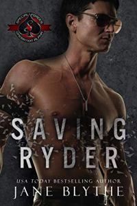 Cover Reveal Saving Ryder by Jane Blythe