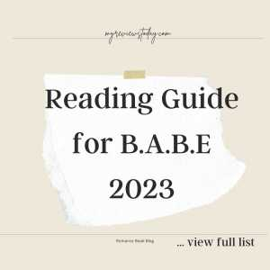 Reading Guide for B.A.B.E 2023