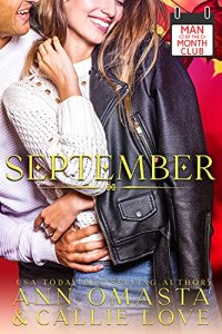 Cover Reveal Man of the Month Club: SEPTEMBER by Callie Love