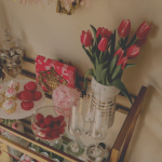 How To Set Up A Valentine S Themed Bar Cart Myriad Musings