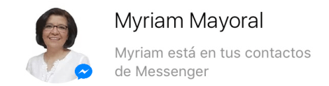 Myriam psicoterapia online messenger