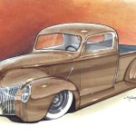 Car Drawings From 1320designs Hot Rod Car Concept Drawings Myrideisme Com