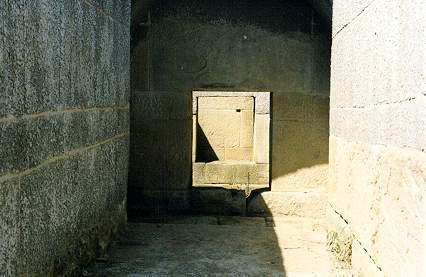 a tumba de dentro