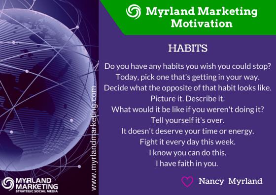 Myrland Marketing Motivation, A Little Virtual Encouragement To Start Your Week